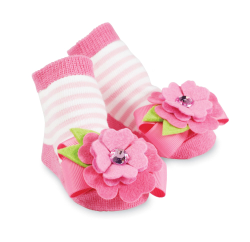 Mudpie Flower Socks