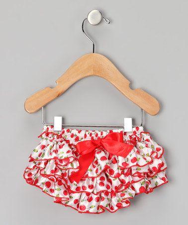 Cherry Print Diaper Cover