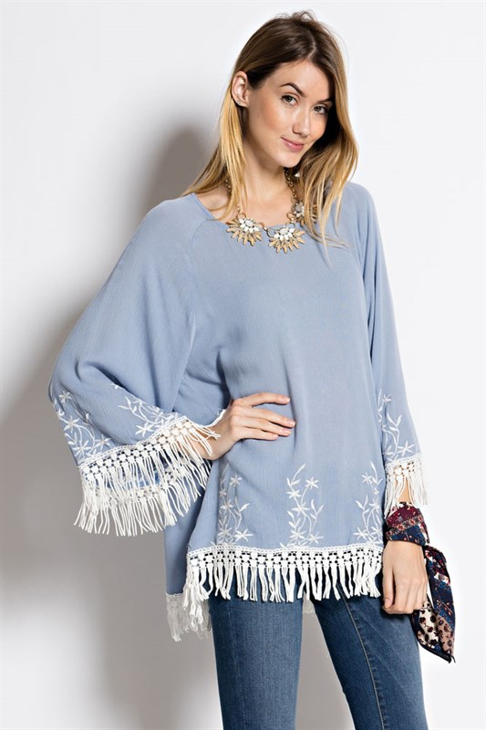 Blue bell tunic