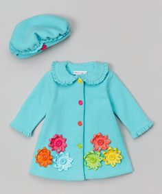 Allison Anne Coat and hat set