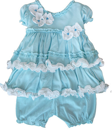 Isobella and Chloe Jelly Bean Tiffany Bloomer Set