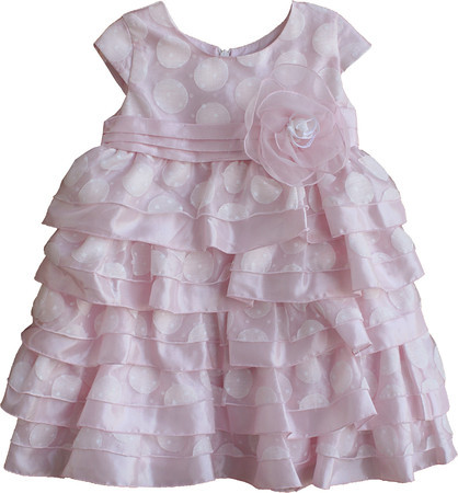 Isobella and Chloe Southern Belle Light Pink Dress