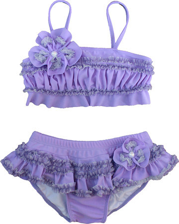 Isobella and Chloe Plum Passion Lilac Bikini