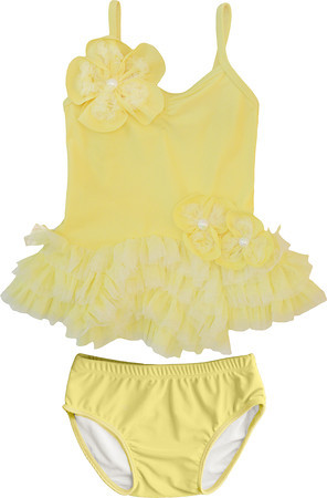 Isobella and Chloe Lemon Drop Tankini
