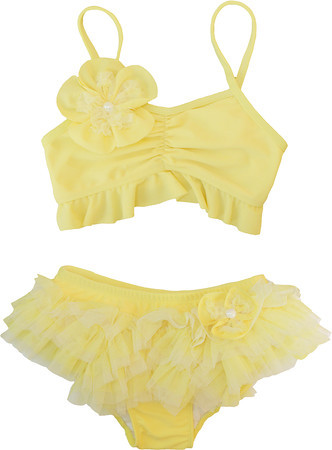 Isobella and Chloe Lemon Drop Bikini
