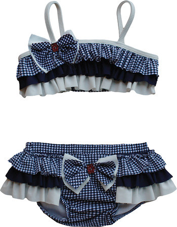 Isobella and Chloe Simply Nautical Navy Bikini