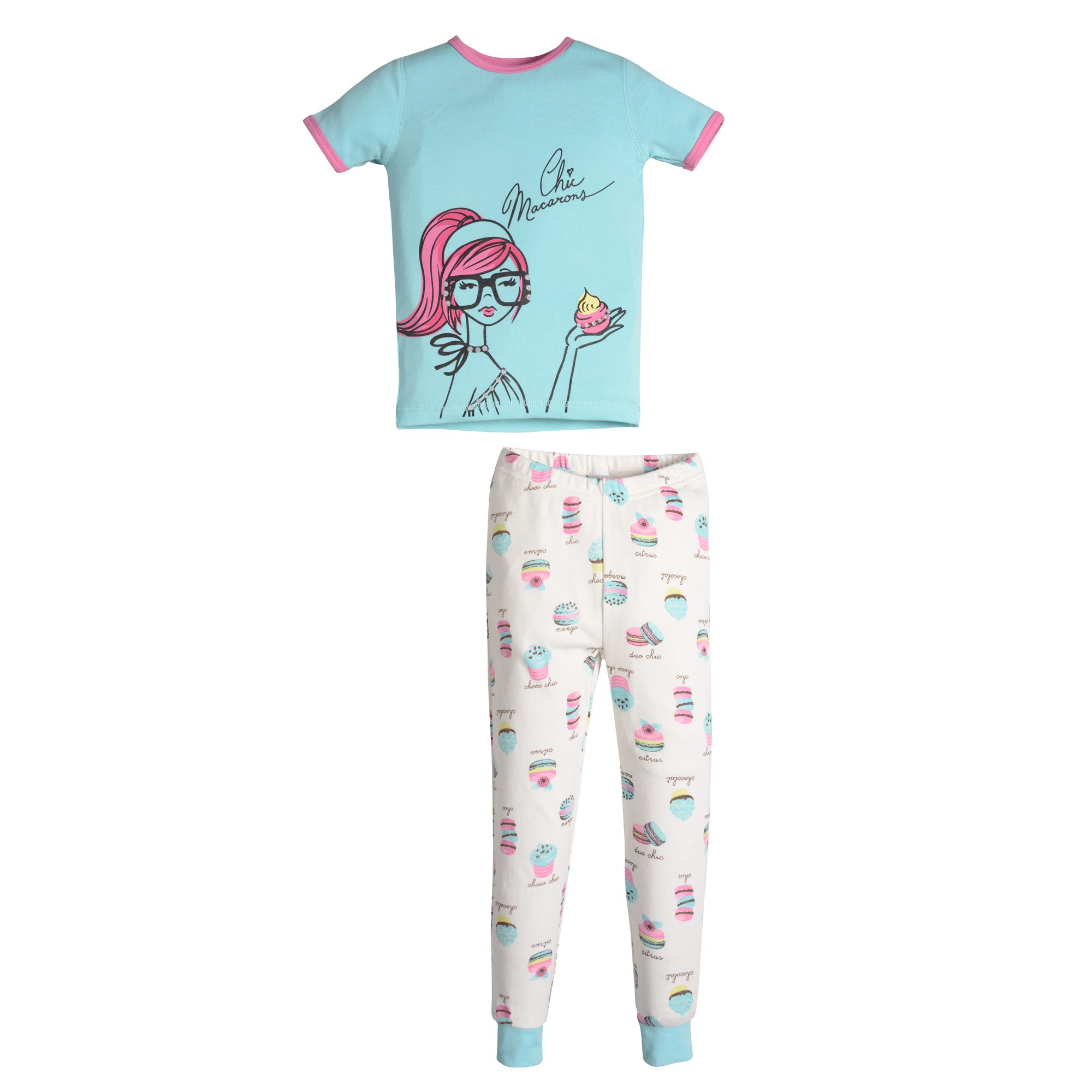Petite Lem Chic Macarons Pajamas