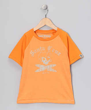 Dogwood Short Sleeve Orange Santa Cruz Tee
