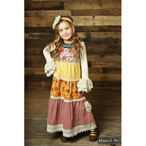 Mustard Pie Jolie Maxi Dress PREORDER