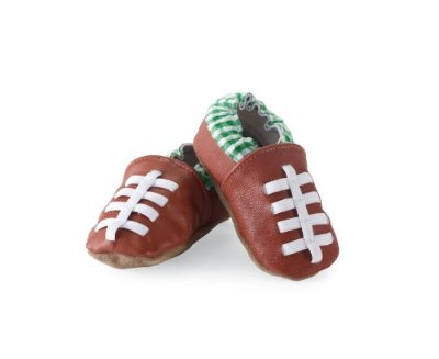 Mud Pie Newborn Football Shoe Socks