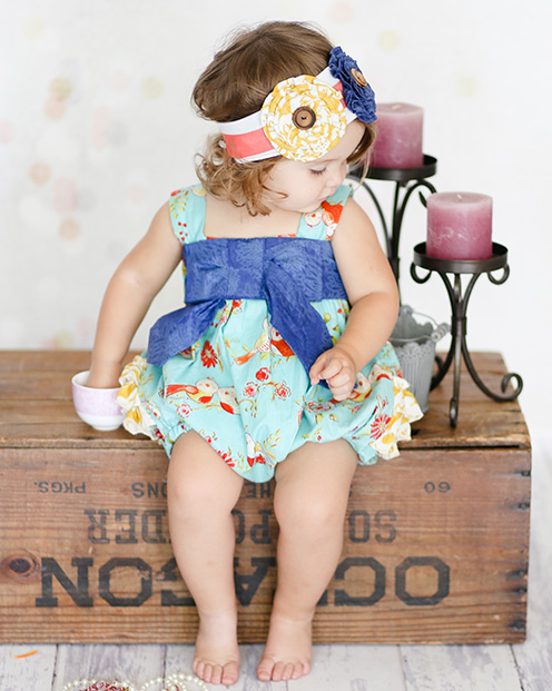Giggle moon New Song Betty Bubble Romper