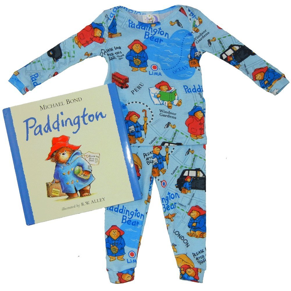 Books to Bed Paddington Bear Pajamas with Book