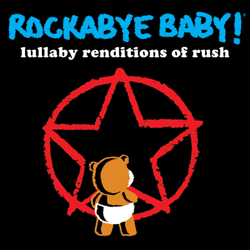 Rockabye Baby Rush Music CD