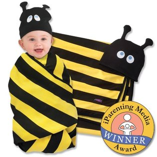 SOZO Swaddle & Cap Set BEE- HAVE