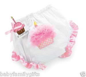 Mud pie Birthday Bloomers 0-6m