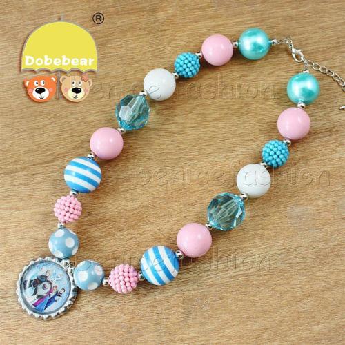 Frozen Bubblegum Necklace