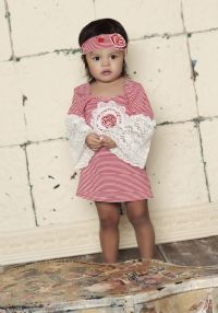 Babycake Vintage Envy Red Dress