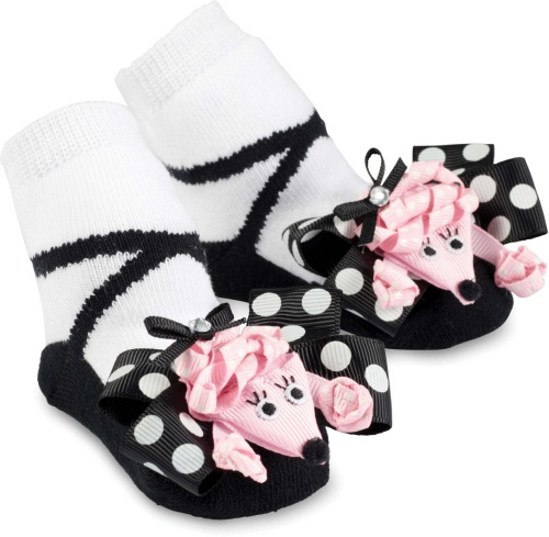 Mudpie Poodle Socks