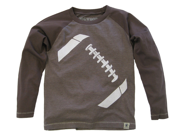Dogwood Giant Football Long Sleeve Tee