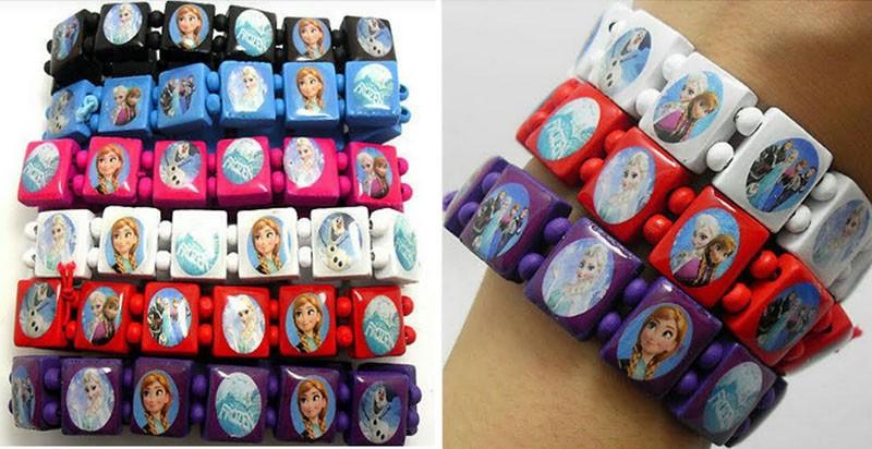 Frozen Wooden Bracelets