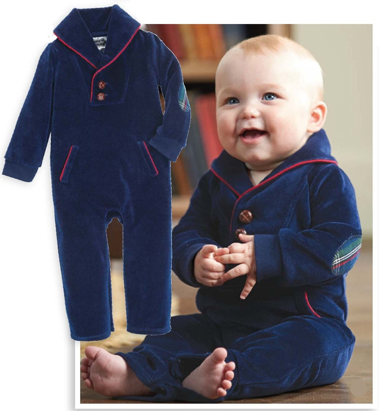 Mud Pie Little Gentleman One Piece