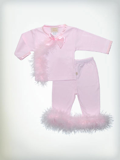 Haute Baby Pretty in Pink Legging Set