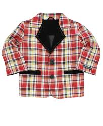 Rugged Butts Hunter Plaid Blazer