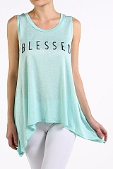 Blessed Tank in Mint