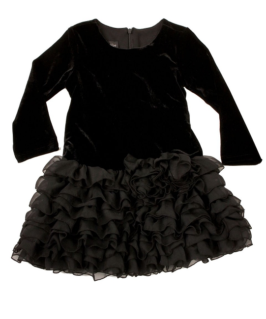 Isobella and Chloe Black Tutu Dress