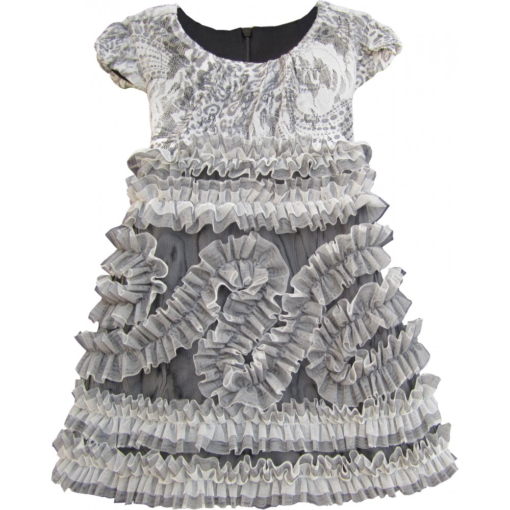 Isobella & Chloe Silver Belle Dress