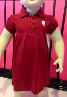 Indiana University Polo Dress and Bloomers