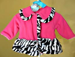 Mud Pie Zebra Coat