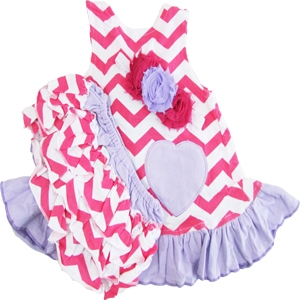 Big Dreamz Pink & Purple 3 Piece Swing Set