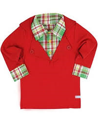 Rugged Butts Hayden Plaid Prep School Pullover